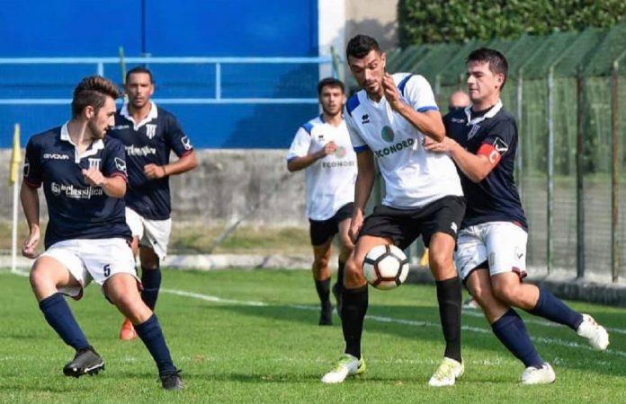 Luca Chiaia (foto pagina Facebook Solbiatese)