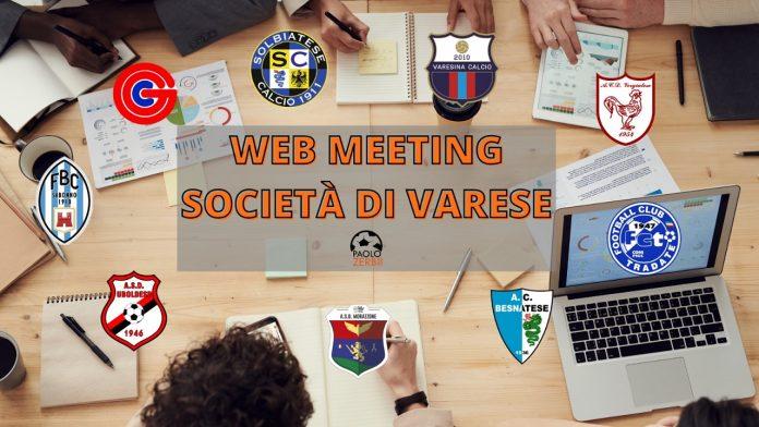 Le società varesine in riunione
