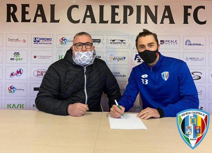 Daniele Capelli firma per la Real Calepina
