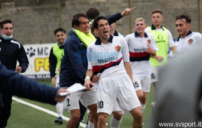Nicolò Buso, attaccante del Sestri Levante (fonte foto SV Sport)