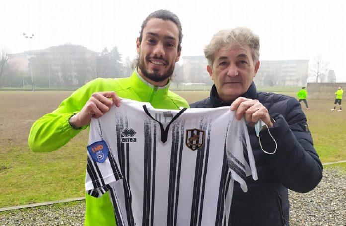 Ciro De Angelis con il presidente del Fanfulla Luigi Barbati