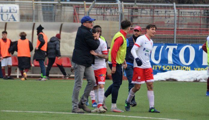 Ezio Rossi, soddisfatto per la vittoria del Città di Varese (foto Ezio Macchi)
