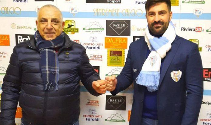 Matteo Andreoletti nuovo allenatore della Sanremese