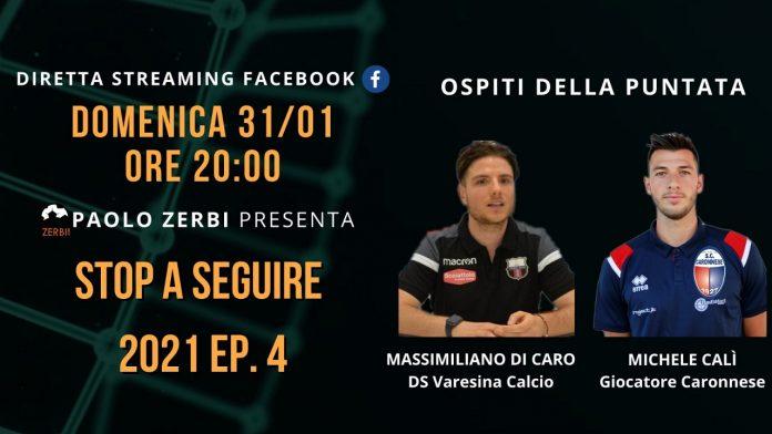 La puntata di Stop a seguire con Max Di Caro e Michele Calì