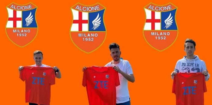 Federico Marinoni, Fabio Filadelfia e Roberto Scaramuzza, annunci in casa Alcione