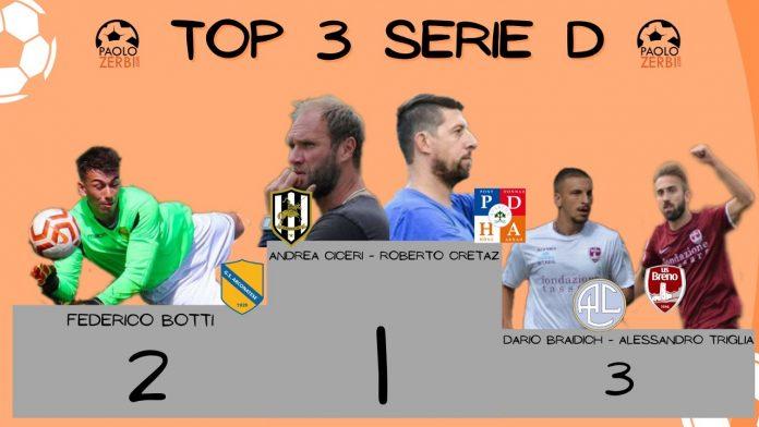 Serie D - Il podio 2 aprile
