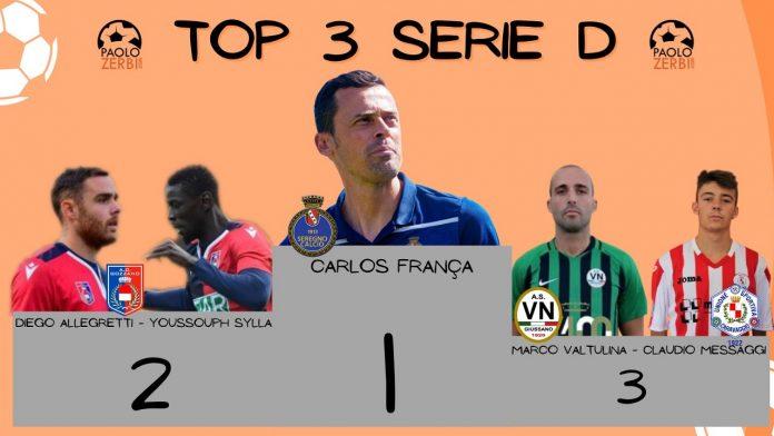 Il oodio di giornata in Serie D
