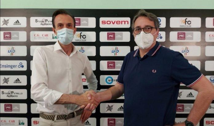 Alberto Affetti presenta Giuseppe Tricarico, nuovo responsabile del settore giovanile della Castellanzese