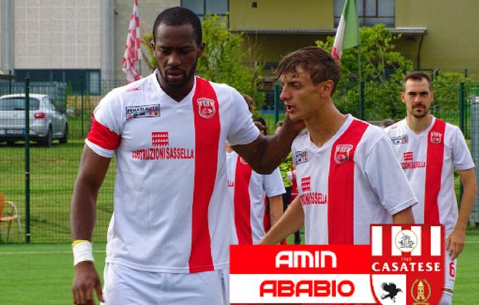 Amin Ababio, qui a Casatenovo, vicino al Pavia