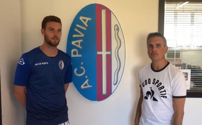 Mattia Cornaggia nuovo giocatore del Pavia