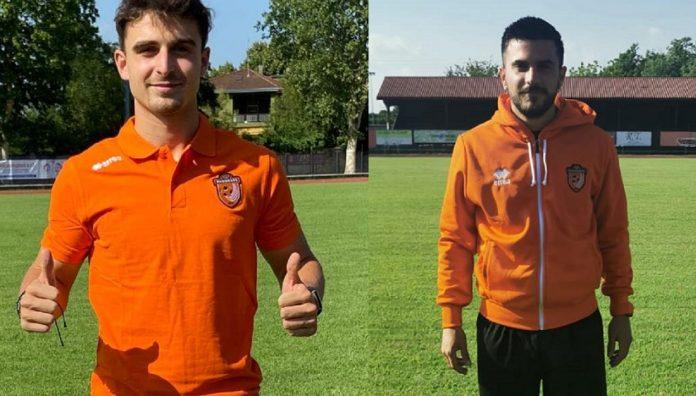 Daniele Sodero e Matteo Schinetti, nuovi giocatori della Rhodense