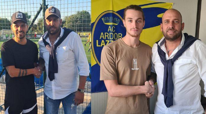 Ardor Lazzate - Libero D'Onofrio e Cristiano Ragone col ds Marco Proserpio